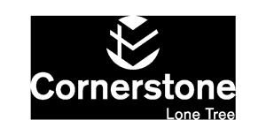 cornerstone white logo
